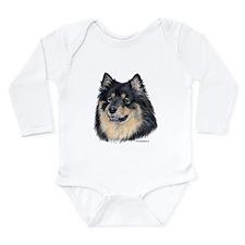 Finnish Lapphund Long Sleeve Infant Bodysuit