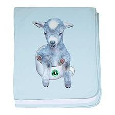 TeaCup Goat Infant Blanket
