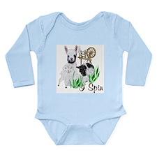 Cria Song Long Sleeve Infant Bodysuit