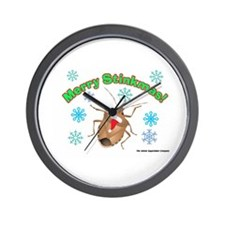 Stink Bug Wall Clock