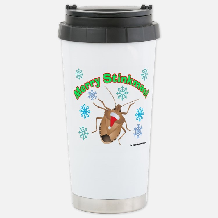 Stink Bug Stainless Steel Travel Mug