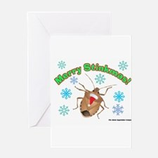 Stink Bug Greeting Card