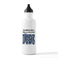 Swedish Vallhund DUDE Water Bottle