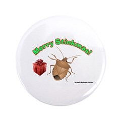 "Stink Bug 3.5"" Button (100 pack)"