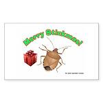 Stink Bug Sticker (Rectangle 50 pk)