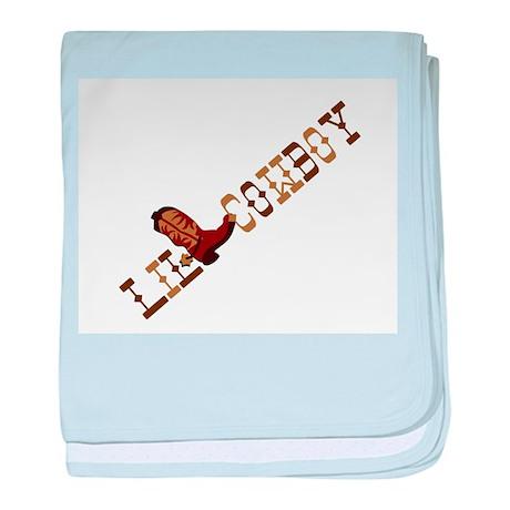 Little Cowboy Infant Blanket