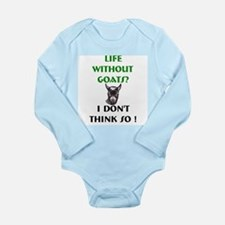 GOATS-Life Without Pygmy Goat Long Sleeve Infant B