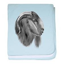 Boer Goat Buck Infant Blanket