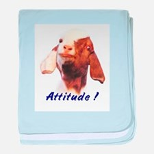 Boer Attitude! Infant Blanket