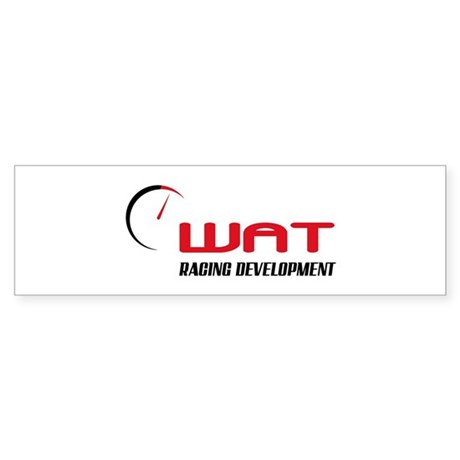 WAT Racing - Sticker (Bumper)