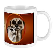 Two Cozy Meerkats Mug