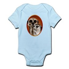 Two Cozy Meerkats Infant Bodysuit