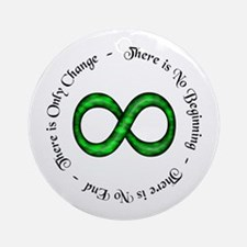Infinite Change Ornament (Round)
