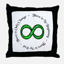 Infinite Change Throw Pillow