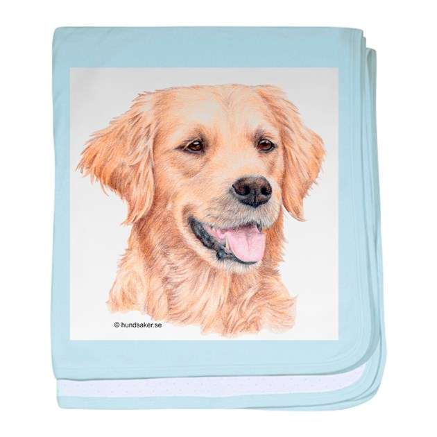 Golden Retriever Infant Blanket By Doggyprint
