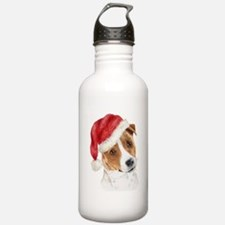 Christmas Jack Russell Terrie Water Bottle