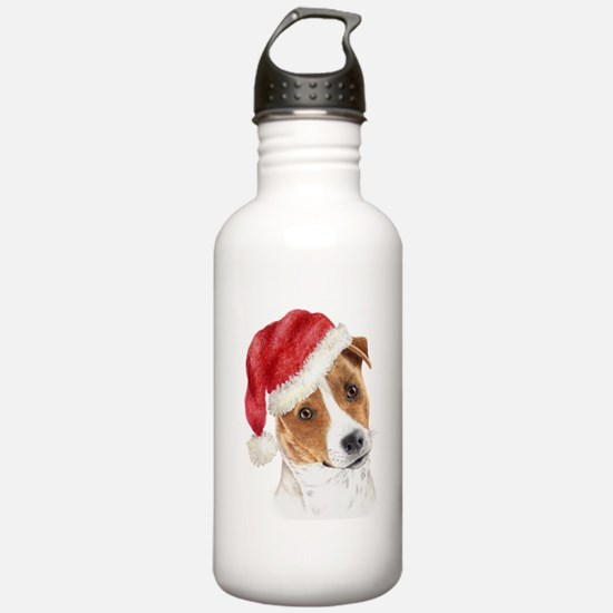 Christmas Jack Russell Terrie Water Bottle