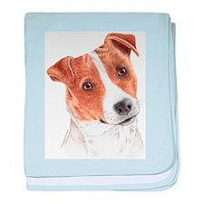 Jack Russell Terrier Infant Blanket