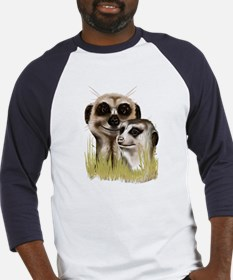 Two Cozy Meerkats Baseball Jersey