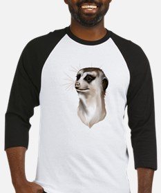 Meerkat Faces Baseball Jersey