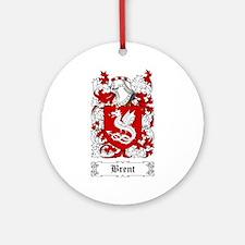 Brent Ornament (Round)