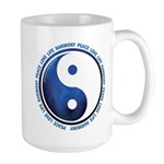 Taoism Ying Yang Large Mug