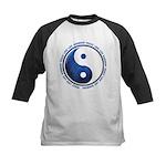Taoism Ying Yang Kids Baseball Jersey