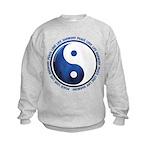 Taoism Ying Yang Kids Sweatshirt