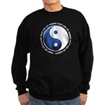 Taoism Ying Yang Sweatshirt (dark)