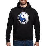 Taoism Ying Yang Hoodie (dark)
