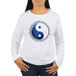 Taoism Ying Yang Women's Long Sleeve T-Shirt