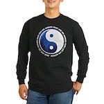 Taoism Ying Yang Long Sleeve Dark T-Shirt