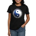 Taoism Ying Yang Women's Dark T-Shirt