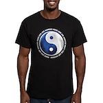 Taoism Ying Yang Men's Fitted T-Shirt (dark)
