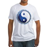 Taoism Ying Yang Fitted T-Shirt