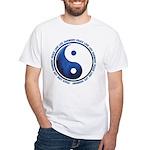 Taoism Ying Yang White T-Shirt