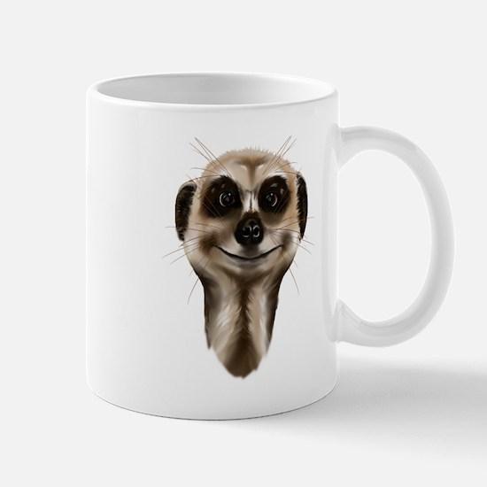Meerkat Faces Mug