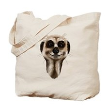 Meerkat Faces Tote Bag