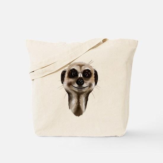 Meerkat Faces Tote Bag
