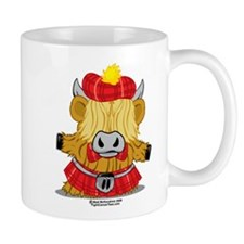 Highland Cow Red Kilt Mug