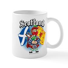Scotland Flag & Piper Mug