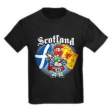 Scotland Flag & Piper T