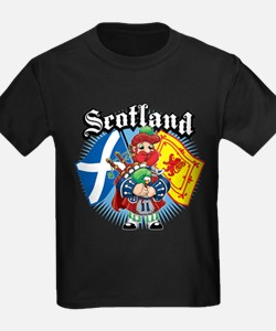 Scotland Flag & Piper T