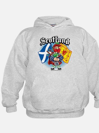 Scotland Flag & Piper Hoody