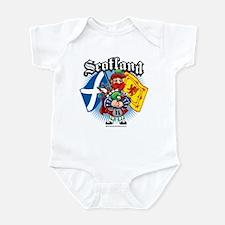 Scotland Flag & Piper Infant Bodysuit