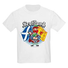 Scotland Flag & Piper T-Shirt