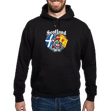Scotland Flag & Piper Hoodie
