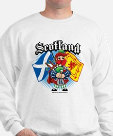 Scotland Flag & Piper Sweatshirt