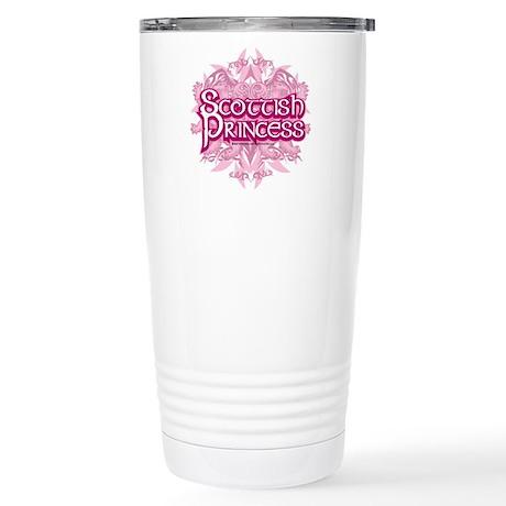 Scottish Princess Stainless Steel Travel Mug
