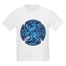 Scotland Iron Cross Blue T-Shirt